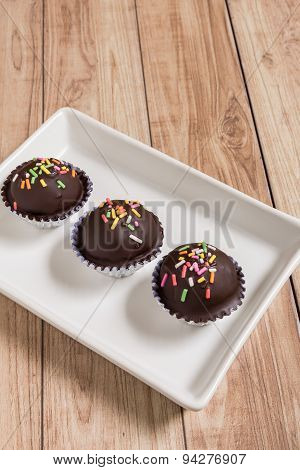 Chocolate Ball Cake