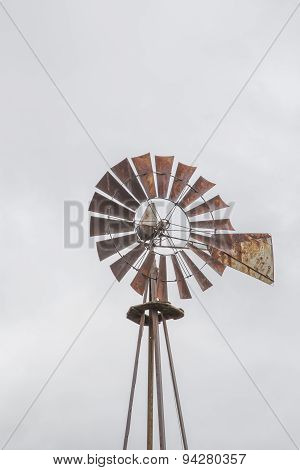 Sepia Wind mill