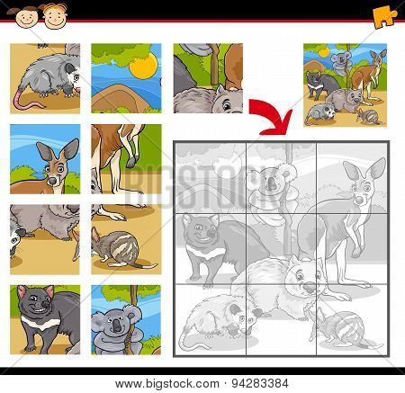 Wild Animals Jigsaw Puzzle Game