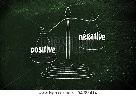 Comparing Positive And Negative, Pros And Cons