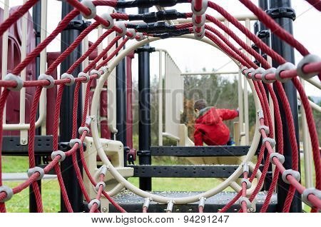 Child In Playgroung