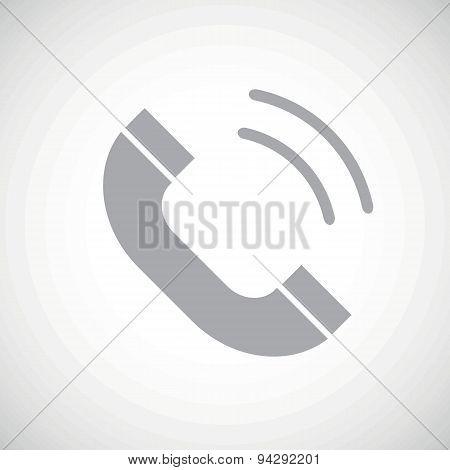 Grey call icon
