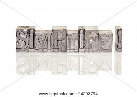 Simplify Excl