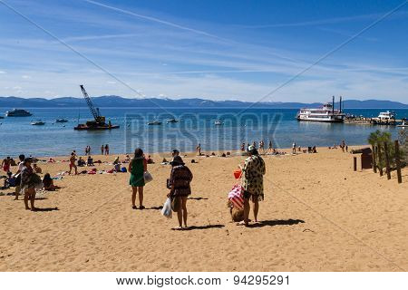 Spring Break, Lake Tahoe