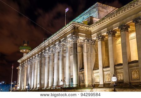 St. George's Hall In Liverpool - England