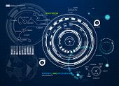 image of futuristic  - Infographic elements - JPG