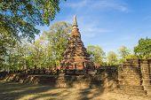 picture of cultural artifacts  - Kamphaeng Phet Historical Park Thailand  - JPG