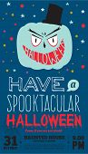 picture of halloween characters  - Bright trick or treat card in vector - JPG