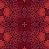 foto of kaleidoscope  - Red kaleidoscope pattern  - JPG