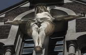 pic of passion christ  - Crucified Jesus Christ as a symbol of suffering for the salvation of mankind - JPG