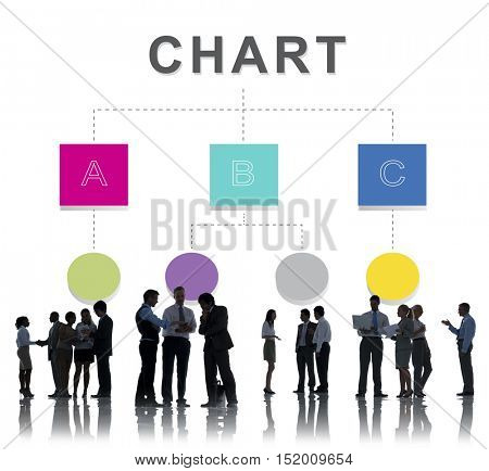 Chart Organization Position Structure Concept