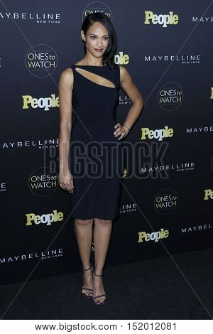 LOS ANGELES - OCT 13:  Cynthia Addai-Robinson at the People's One To Watch Party at E.P. & L.P on October 13, 2016 in Los Angeles, CA