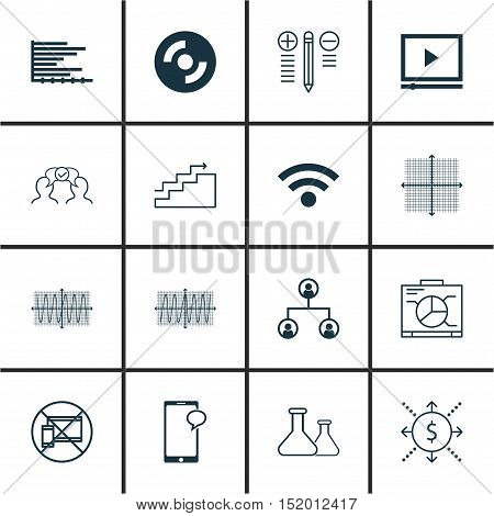 Set Of 16 Universal Editable Icons For Airport, Human Resources And Project Management Topics. Inclu
