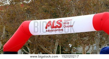 LOS ANGELES - OCT 16:  Atmosphere at the ALS Association Golden West Chapter Los Angeles County Walk To Defeat ALS at the Exposition Park on October 16, 2016 in Los Angeles, CA