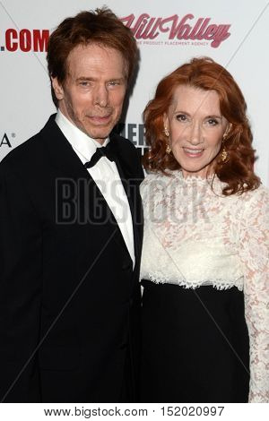 LOS ANGELES - OCT 14:  Jerry Bruckheimer, Linda Bruckheimer at the 2016 American Cinematheque Awards at Beverly Hilton Hotel on October 14, 2016 in Beverly Hills, CA
