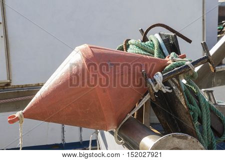 Buoy On Boat
