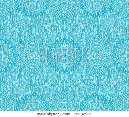 blue Escher graphic
