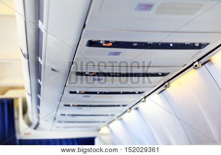 Airplane Overhead Panel
