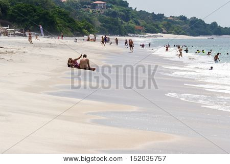 Beach Family Time