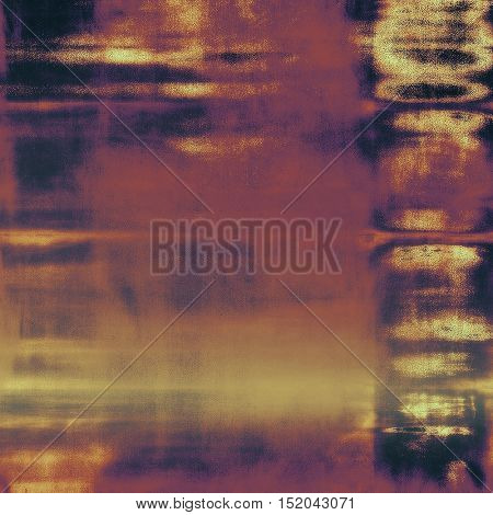Grunge antique frame, vintage style background. With different color patterns: yellow (beige); brown; gray; red (orange); purple (violet); pink