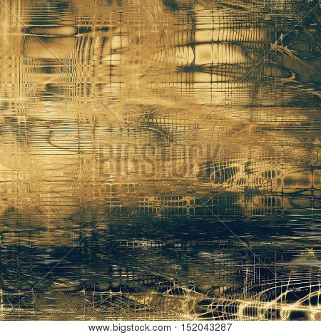 Mottled vintage background with grunge texture and different color patterns: yellow (beige); brown; gray; blue; black