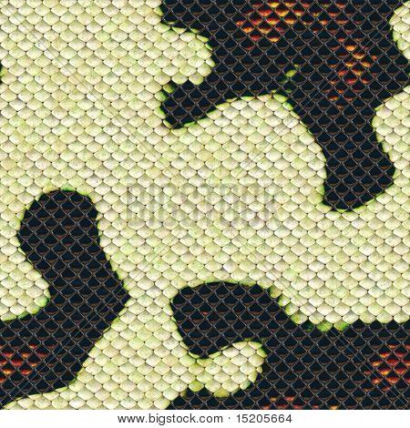 seamless snake skin texture
