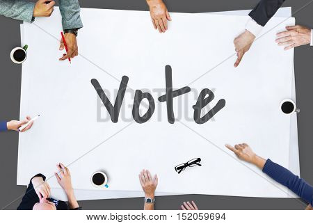 Vote Today Election Politics Concept
