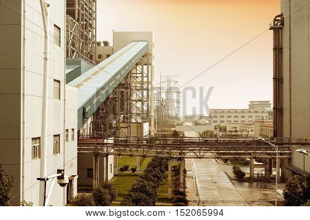 China Shanghai Industrial Thermal Power Plant Area and Equipment