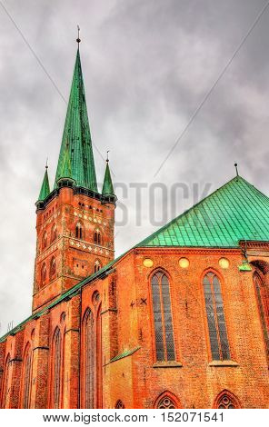 St. Peter's Church in Lubeck - Germany, Schleswig-Holstein