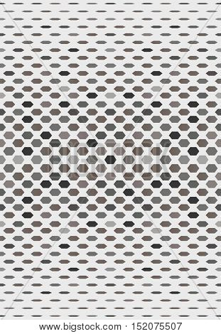 Abstract retro background with geometric forms. Vector Illustration.