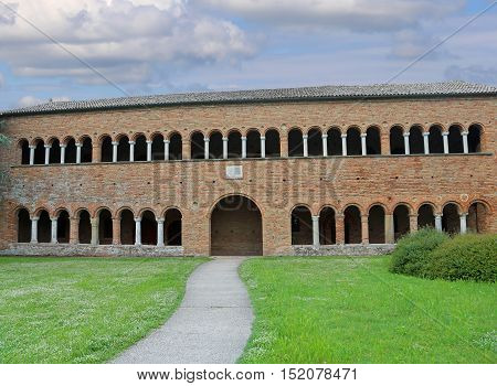 Monastery Of The Abbey Of Pomposa In Italy