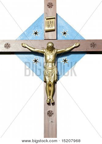 An image of a holy cross in Bavaria Germany