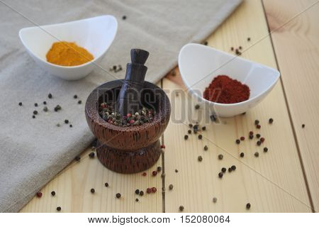 Seasonings impart flavor and aroma for cooking