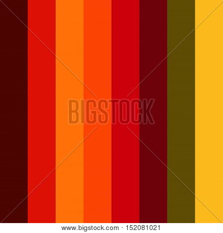 Bright Colorful red seamless stripes pattern. Abstract vector background.