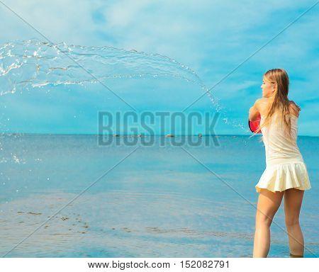 Outdoor Girl Model
