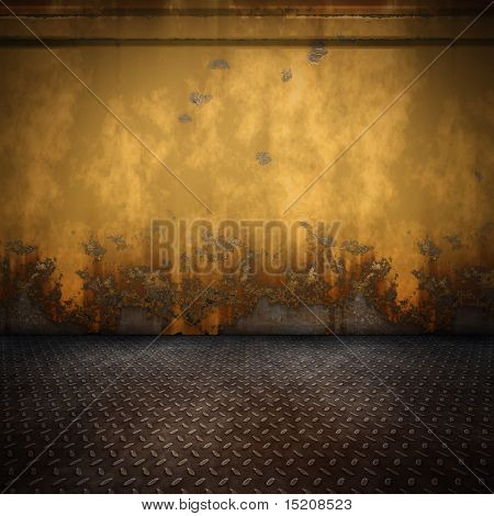 An image of a nice steel floor background