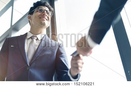 Business Card Company Leadership Organization Concept