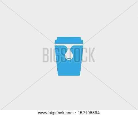 Fresh, juice, drink, beverage logotype. Smoothie fruits beverage logo icon vector design