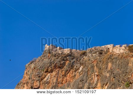 Monemvasia  Byzantine castle, Greece