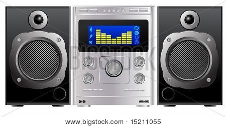 vector hi-fi music center