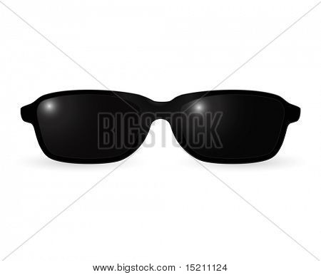 vector black sunglasses