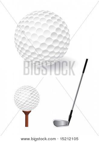 vector golf ball set