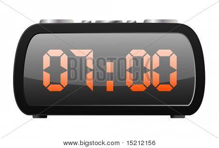 vector digital radio clock