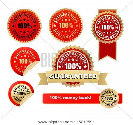vector satisfaction guarantee labels