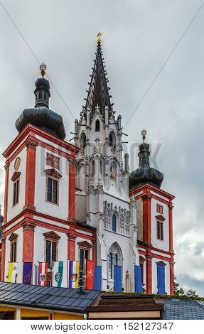 Mariazell Basilica is a Marian basilica in Mariazell Austria. It is the most important pilgrimage destination in Austria and one of the most visited shrines in Europe