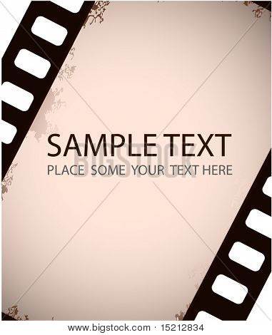 vector film strip background