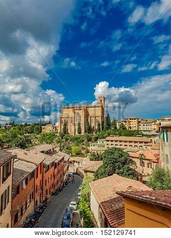 Basilica Cateriniana San Domenico In Siena