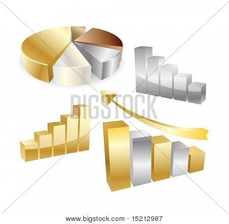 vector golden diagram