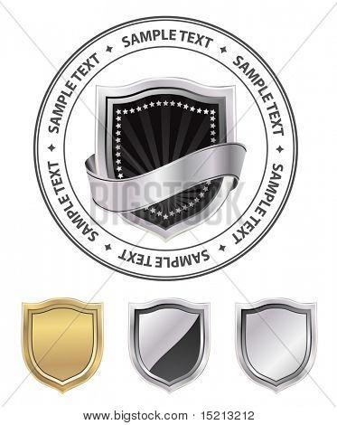 vector shield emblem