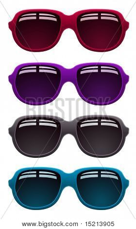 vector sunglasses design
